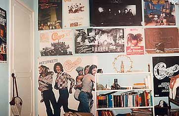 Amazing Bedroom Wall Covered In Posters Music And Mayhem