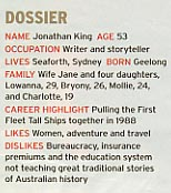 Jonathan King — Melbourne Weekly Magazine